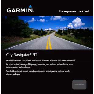 Garmin City Navigator Spain and Portugal for eTrex HCX-Oregon Series and Edge 800