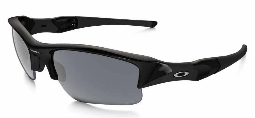 oakley flak jacket sunglasses jet  oakley flak jacket xlj jet black black iridium polarized