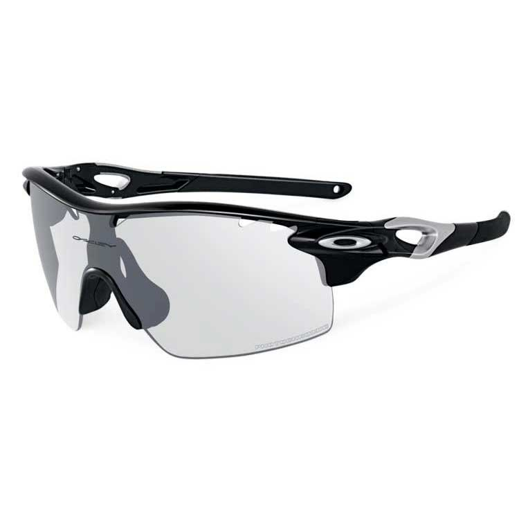 b297352032a ... czech oakley radarlock xl straight stem polished black clear black  iridium photocromic vented 6cec1 a66db