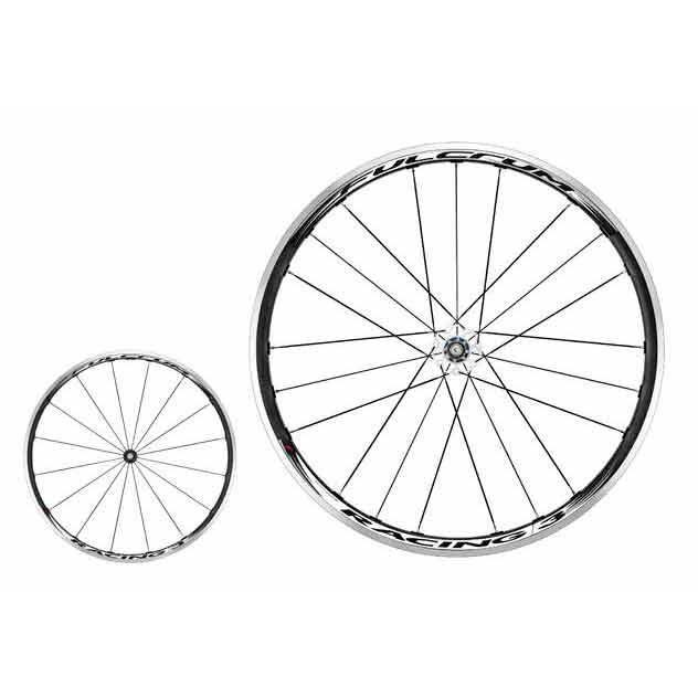 Fulcrum Racing 3 Black/White Campagnolo Clincher Pair