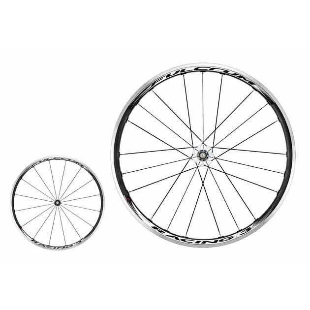 Fulcrum Racing 3 Black/White Shimano 11V Clincher Pair