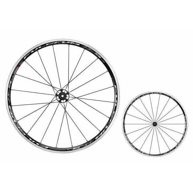 Fulcrum Racing 5 LG Black/White HG11 Clincher Pair