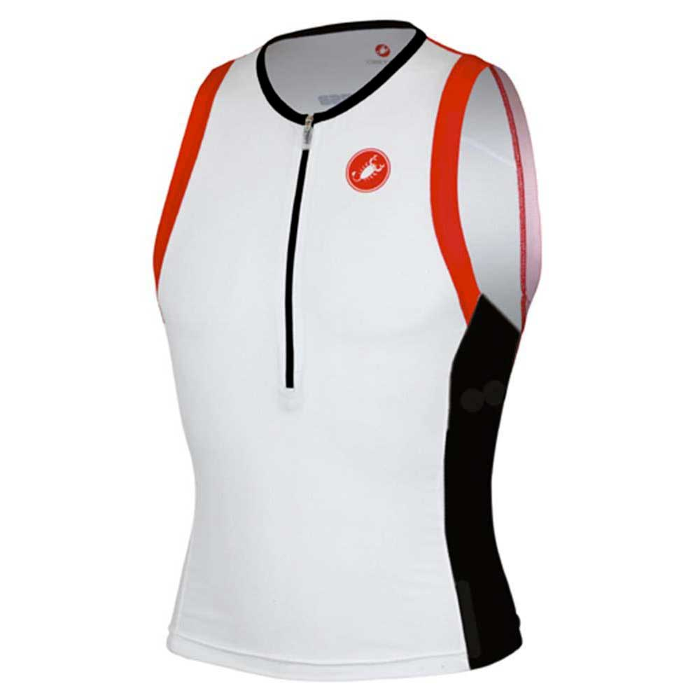 Castelli Free Tri Top Yellow