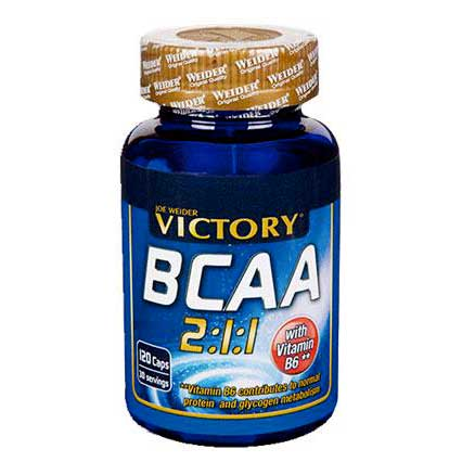 Weider Victory Bcaa 120 Caps