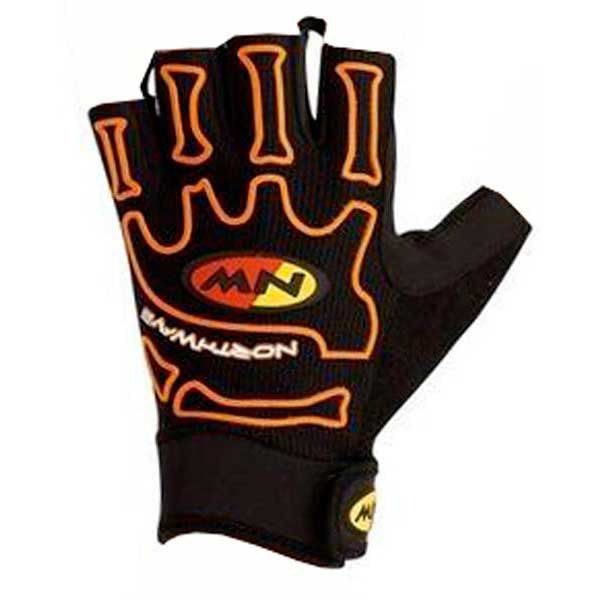 Northwave Skeleton Short Gloves