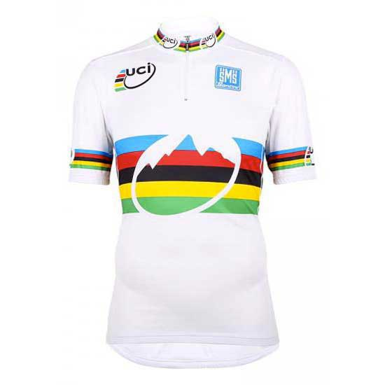 Santini Short Sleeves Jersey World Champion MTB