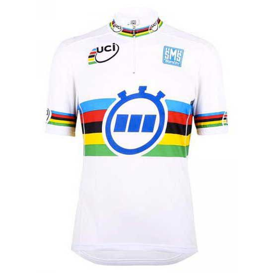 Santini Short Sleeves Jersey World Champion TT