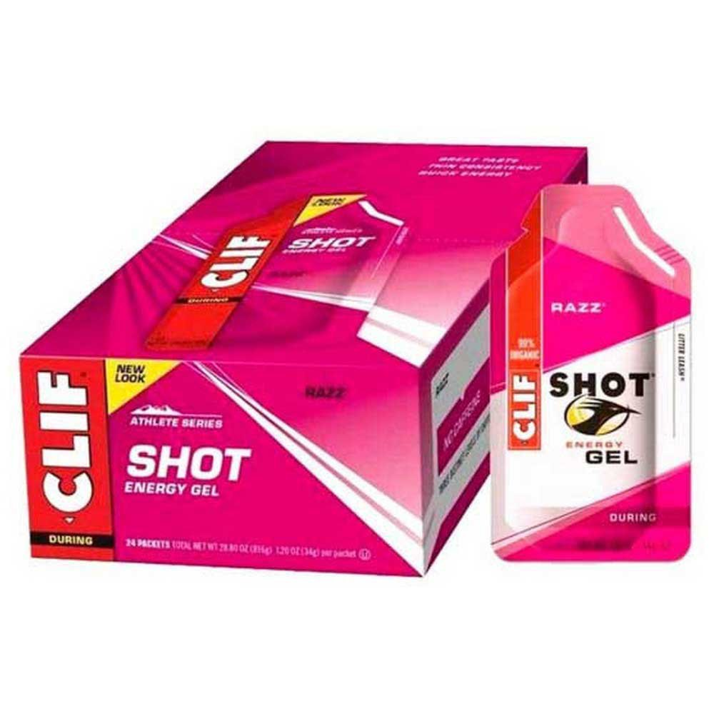 Clif Energy Gel Raspberry Box 24 Units