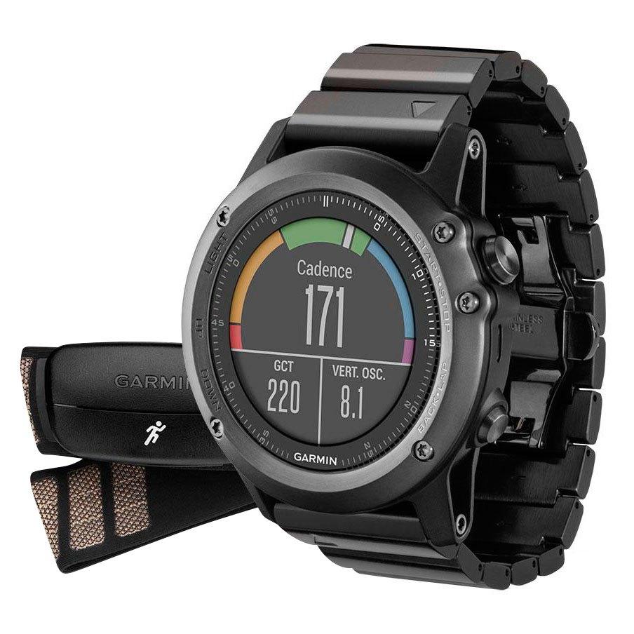 297705c43b2 Garmin Fenix 3 Sapphire HRM Preto comprar e ofertas na Bikeinn Relógios
