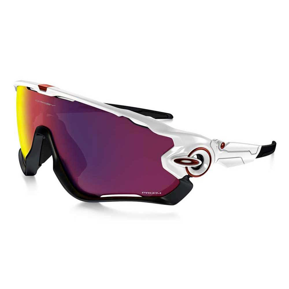 Oakley Jawbreaker Prizm >> Oakley Jawbreaker Prizm Road White Buy And Offers On Bikeinn
