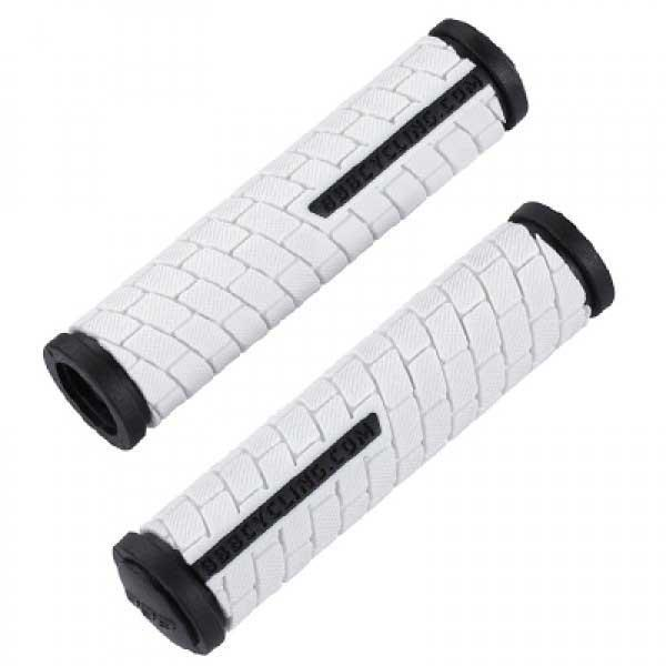 Bbb Grips Dual 125mm White/Black BHG-06