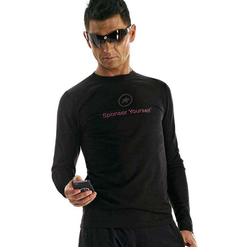 Assos T-shirt Sponsor Yourself Long Sleeves
