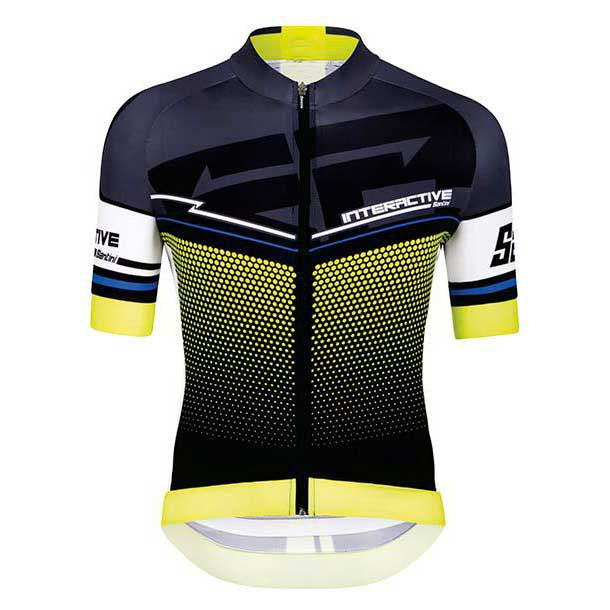 Santini Interactive 3.0 Short Sleeves Jersey