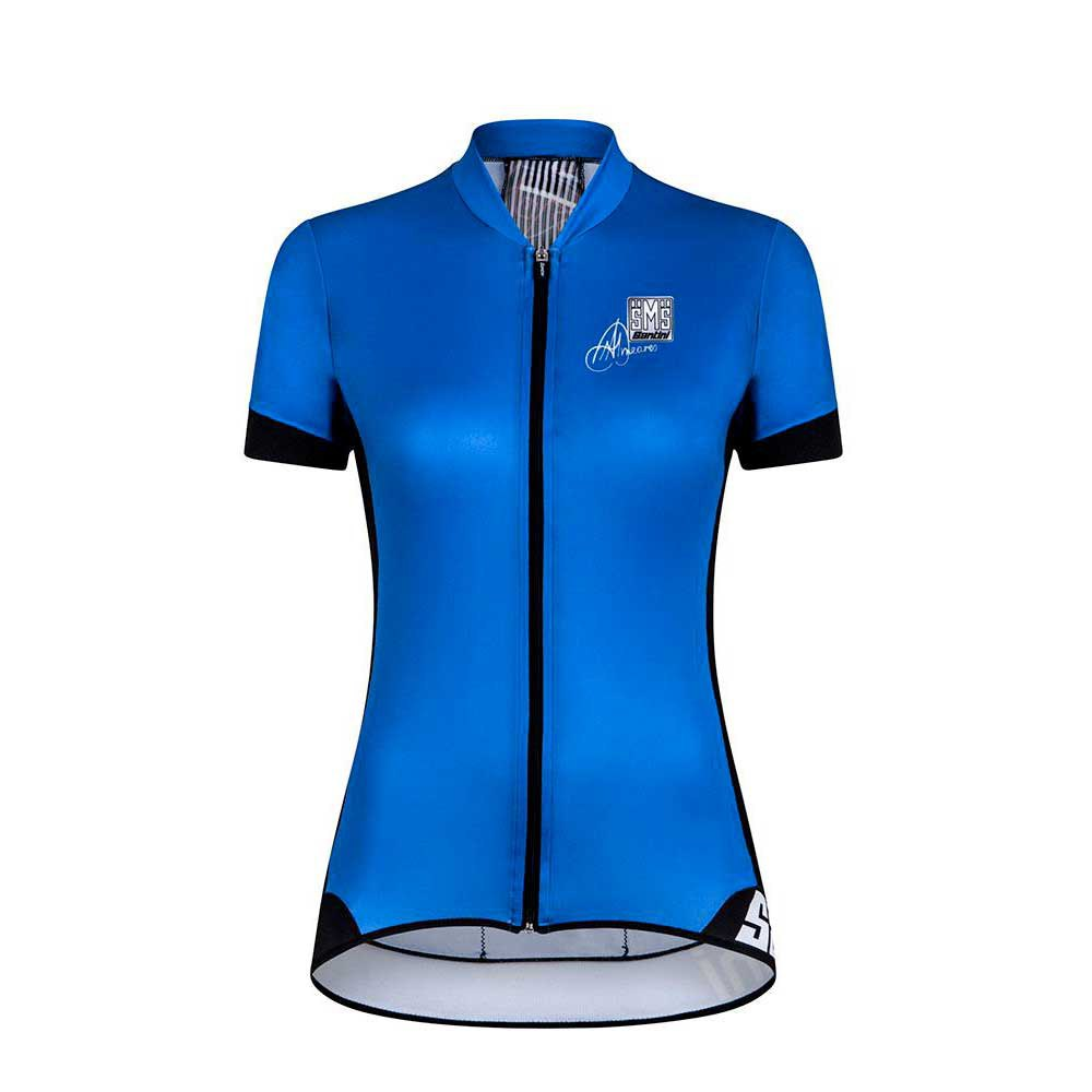 Santini Gold Short Sleeves Woman Jersey