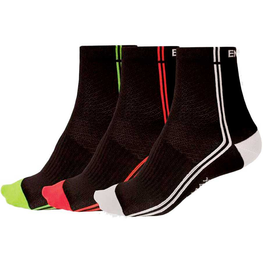 Endura Coolmax Stripe Ii Socks
