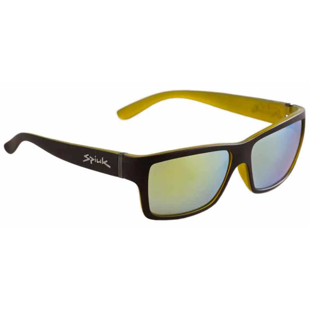 Spiuk Halley With Yellow Mirror Lenses