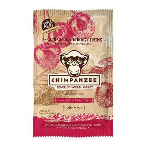 Chimpanzee Gunpowder Energy Drink Envelope Wild Cherry 30 g