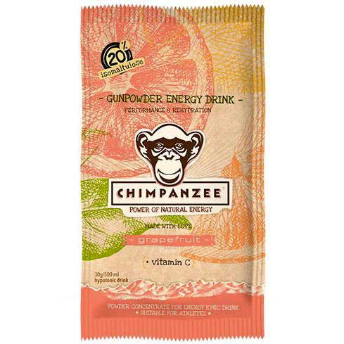 Chimpanzee Gunpowder Energy Drink Envelope Grapefruit 30 g