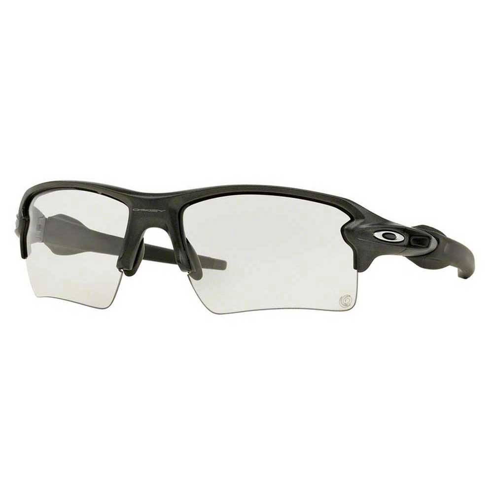 oakley clear lenses 91qz  Oakley Flak 20 XL Steel W/ Clear To Photochromic
