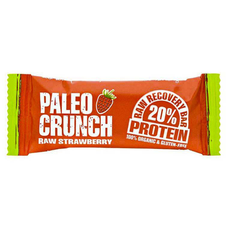 Paleo crunch Bar Raw Strawberry Protein Bar 48 g x 12 Units