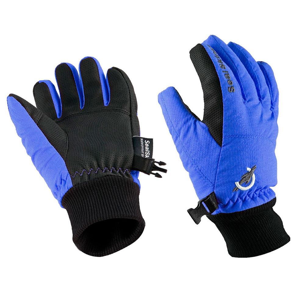 Sealskinz Glove Blue / Noir Junior