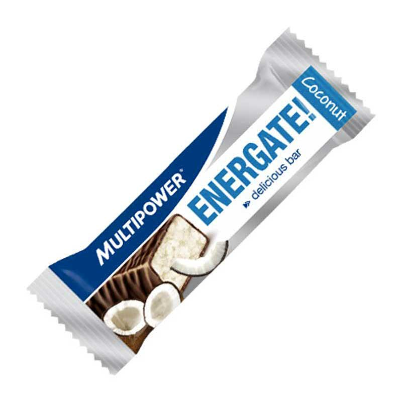 Multipower Bar Energate Coconut 35 gr (Box 24 Units)