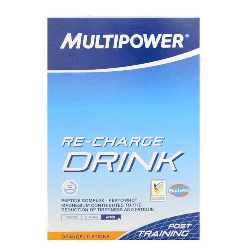 Multipower Sticks Re-Charge Orange 45 gr (Box 8 Units)