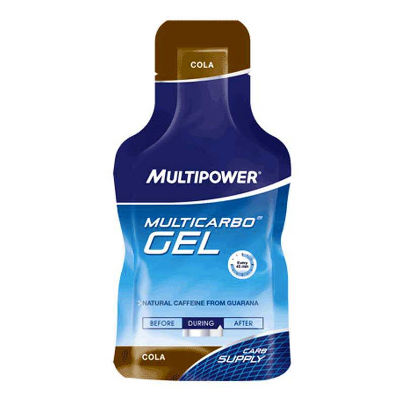 Multipower Guarana Cola Gel 40 gr (Box 24 Units)