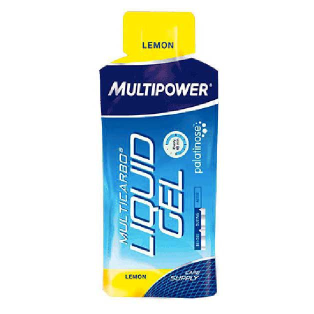 Multipower Palatinose Limon Liquid Gel 55ml (Box 25 Units)