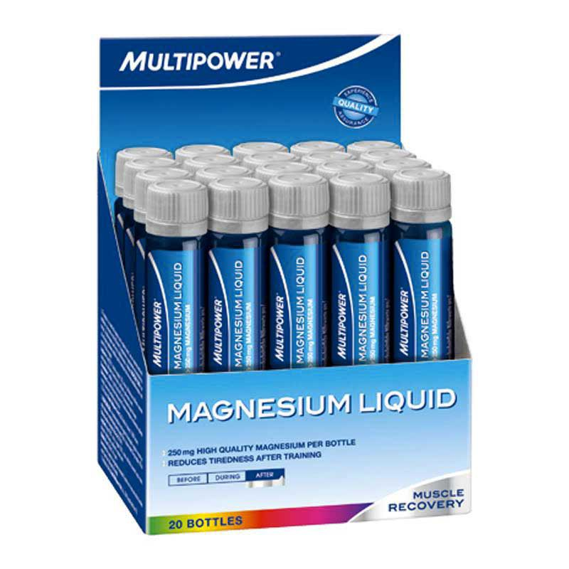 Multipower Magnesium Vial Liquid (Box 20 Units)