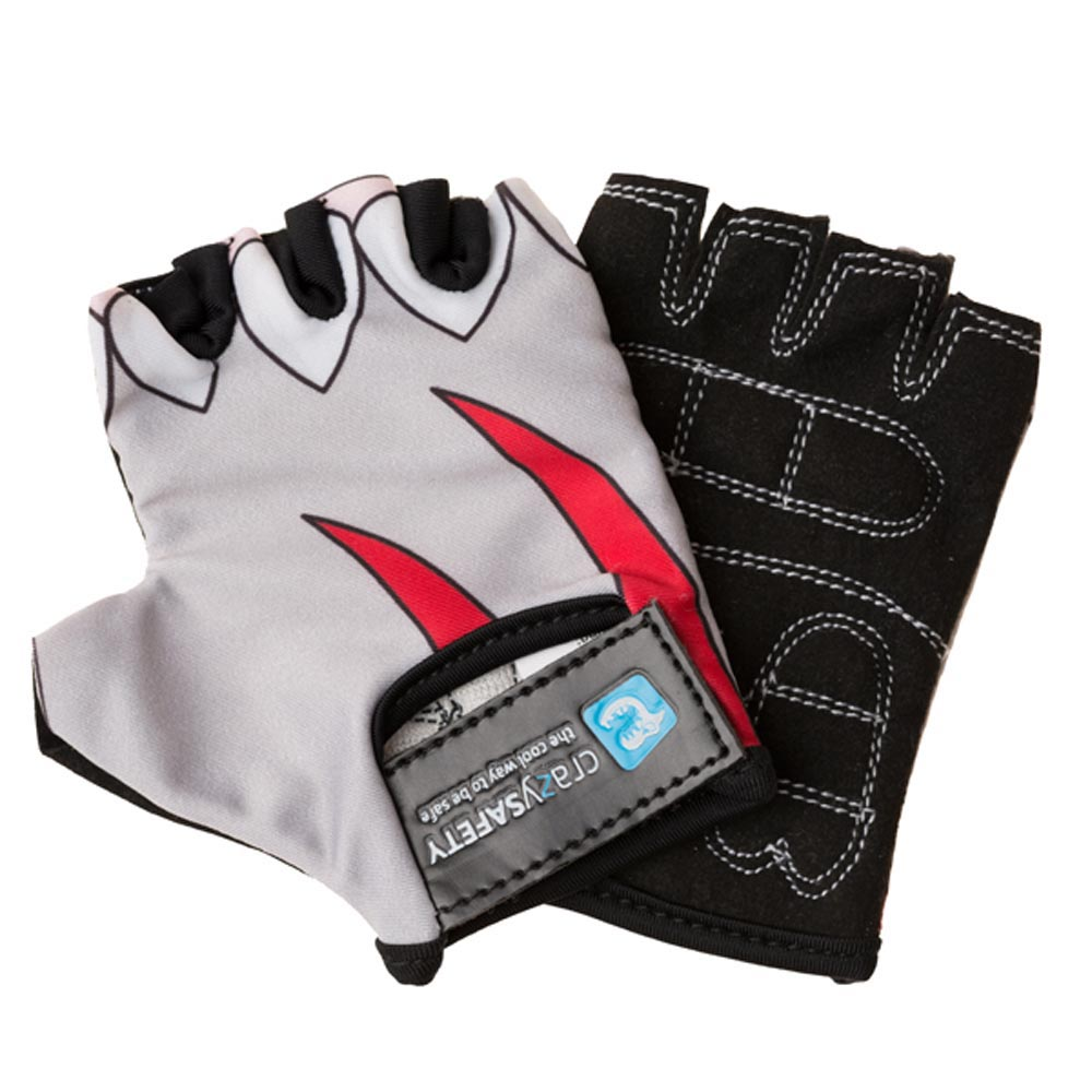 2b0ea76a5 Crazy safety White Shark Gloves comprar e ofertas na Bikeinn Luvas