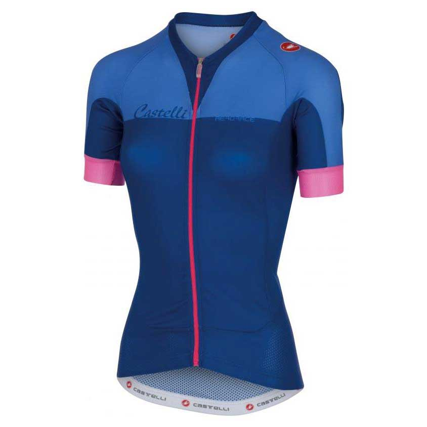 Castelli Aero Race W Jersey Fz Blue buy and offers on Bikeinn e29100f6a
