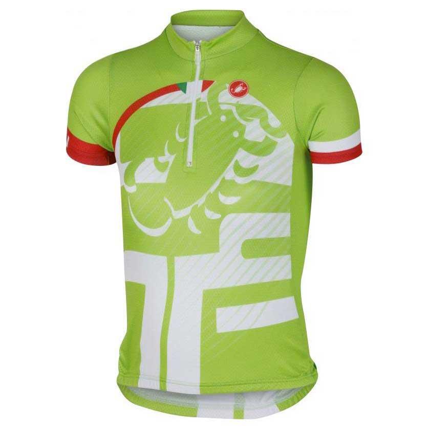 Castelli Veleno Kid Jersey Green buy and offers on Bikeinn 432c33020