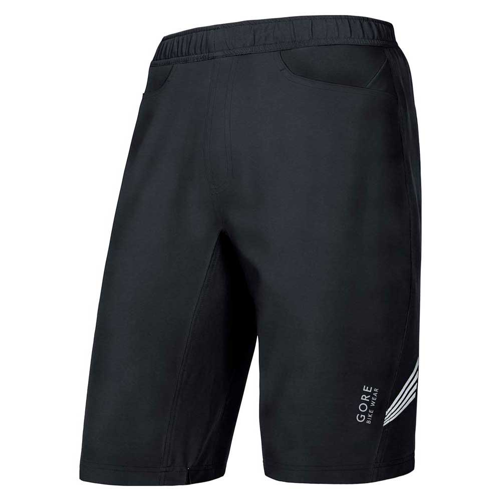 Gore bike wear E Pantalones Cortos+ 2 in 1
