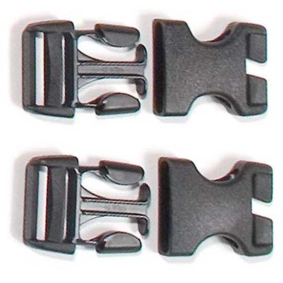 Ortlieb Stealth Buckles for Rack Pack (Pair)