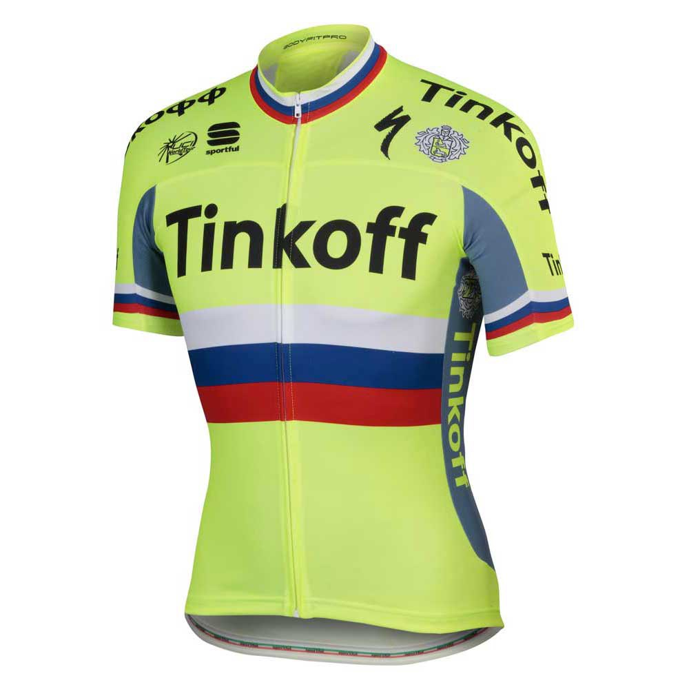 Sportful Tinkoff Russian Champ BodyFit Pro Team Jersey