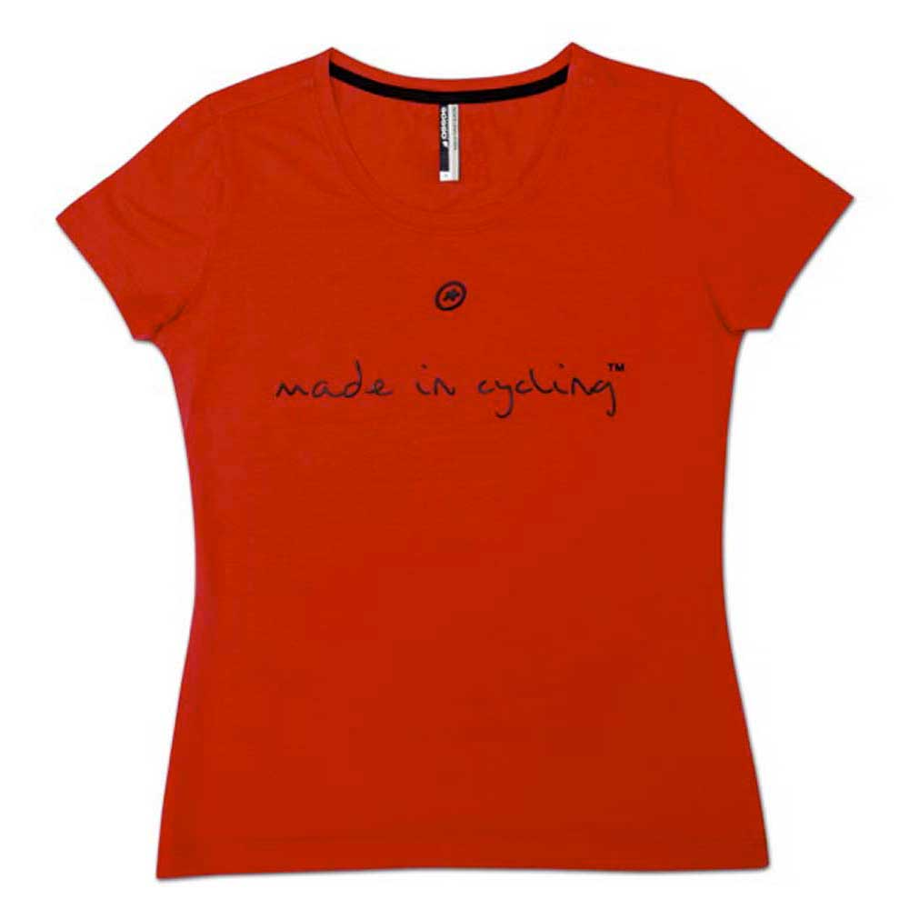 Assos T-Shirt Made in Cycling Lady
