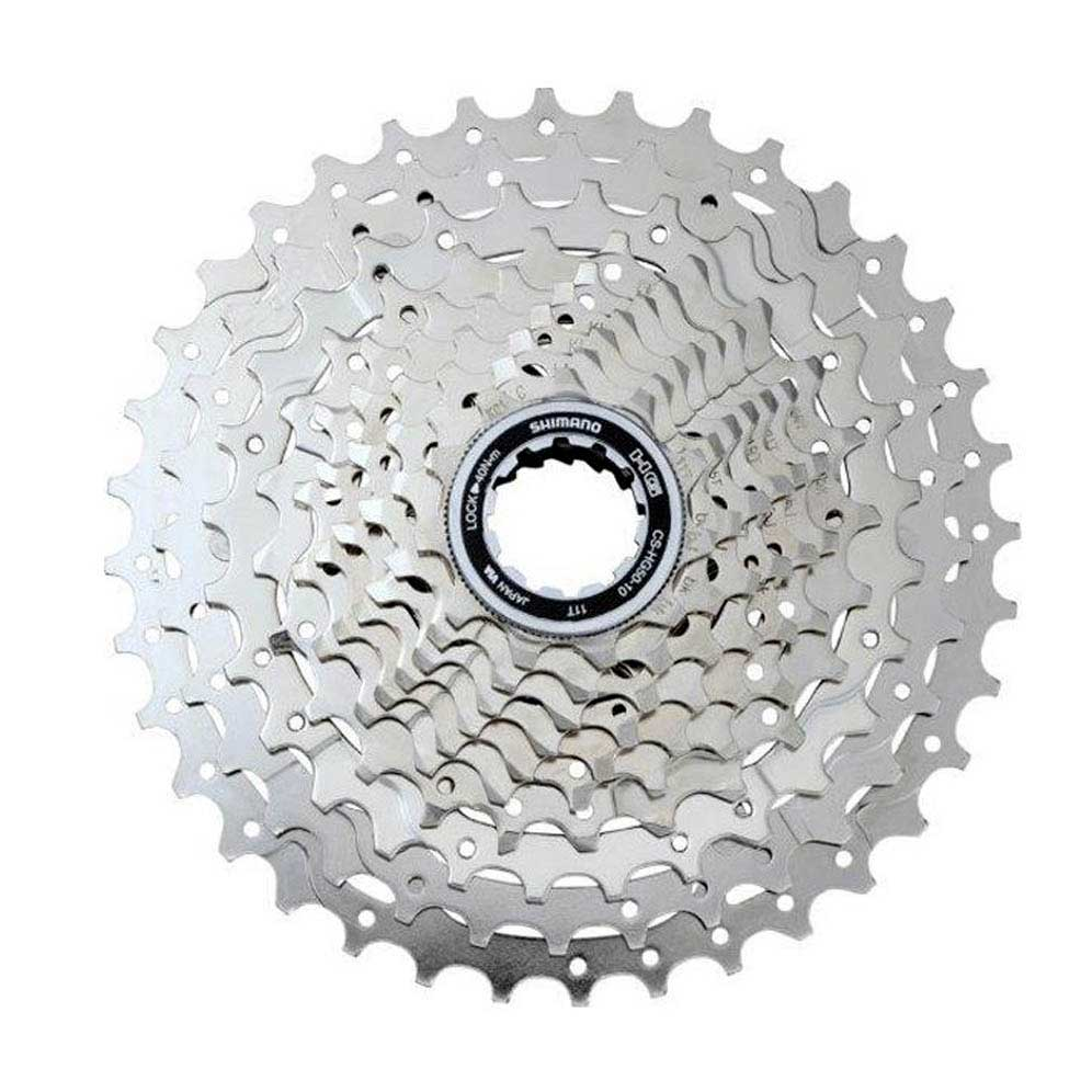 Shimano Deore Cs Hg50 10s Silver Buy And Offers On Bikeinn Sproket 8 Speed Hg 31 11 34t