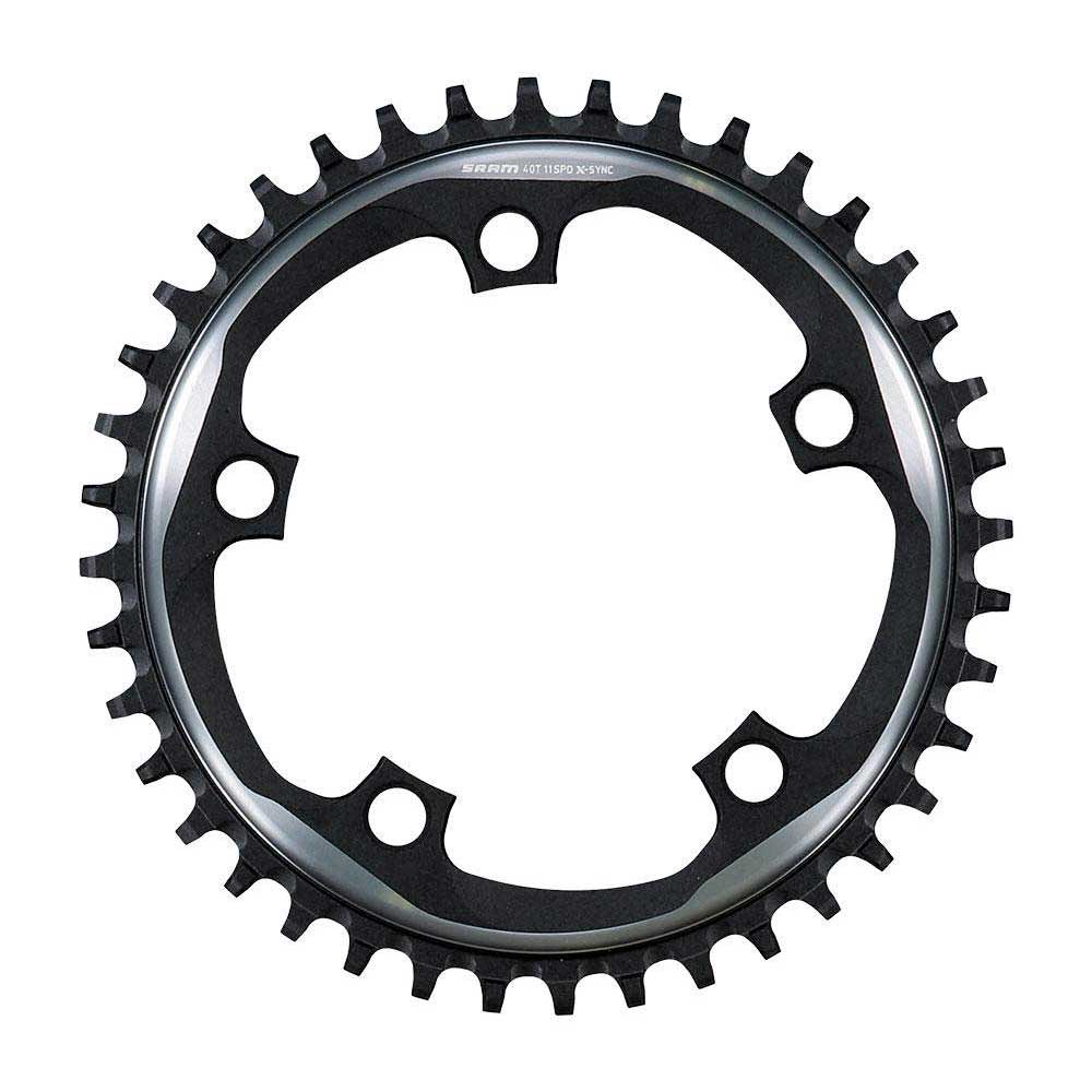 Sram Chain Ring X-Sync 40T 11 Speed 110 Alum Argon Grey BB30 or GXP