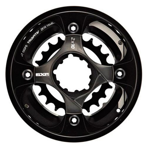 Truvativ Truvativ Crank 10-speed Set All Mountain Guard-38-24 with X9 GXP Spider 49 Chainline 104/64 BCD