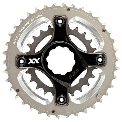 Truvativ Truvativ Crank 10-speed Set 38-24 with XX Specialized Spider 49 Chainline 104/64 BCD