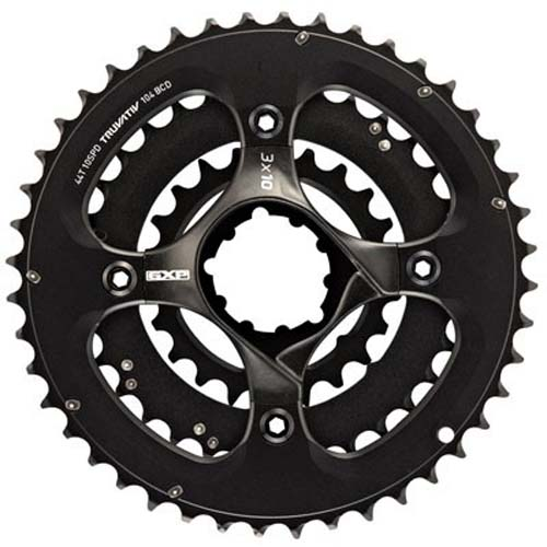 Truvativ Truvativ Crank 10-speed Set 44-33-22 with X9 GXP Spider 104/64 BCD