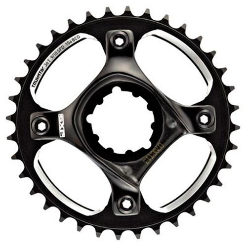 Truvativ Truvativ Crank 10-speed Single Speed Set 36 with X0DH GXP Spider 51 Chainline 104 BCD