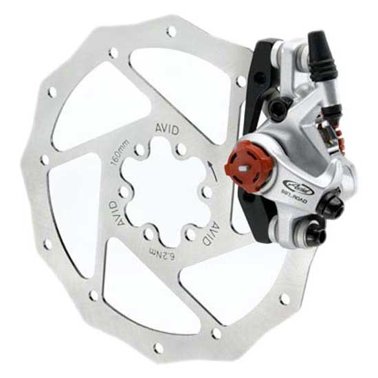 Sram Disc Brake BB7 Road Platinum. Includes 160mm G2CS Rotor .Front & Rear IS Brackets