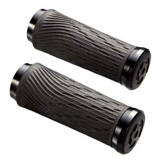 Sram Locking Grips for Grip Shift Integrated 85mm with Black Clamp and End Plug