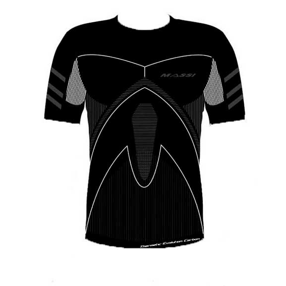Massi Thermetic Evolution Carbon S/S Round Neck
