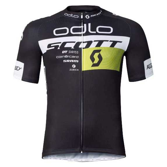 95235ff15 Odlo Scott Odlo Racing Team Replica Jersey Black