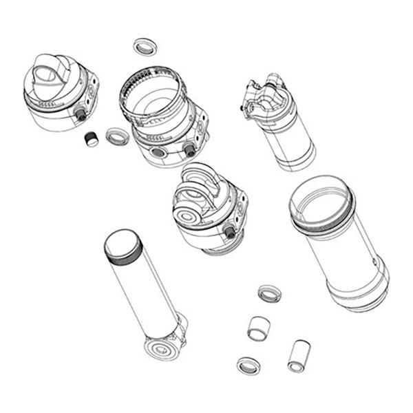 Rockshox Set Spacers Ario