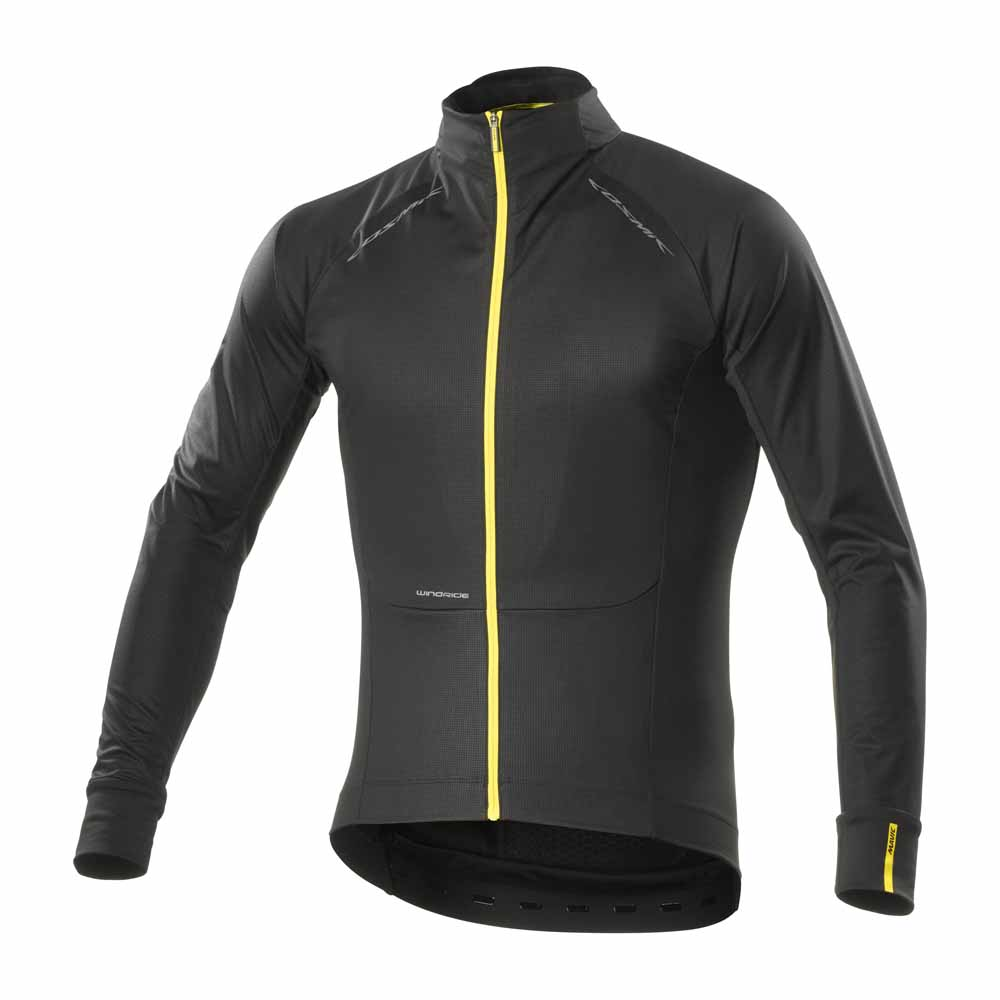 Mavic Cosmic Pro Wind L S Jersey Black buy and offers on Bikeinn 4b006d663