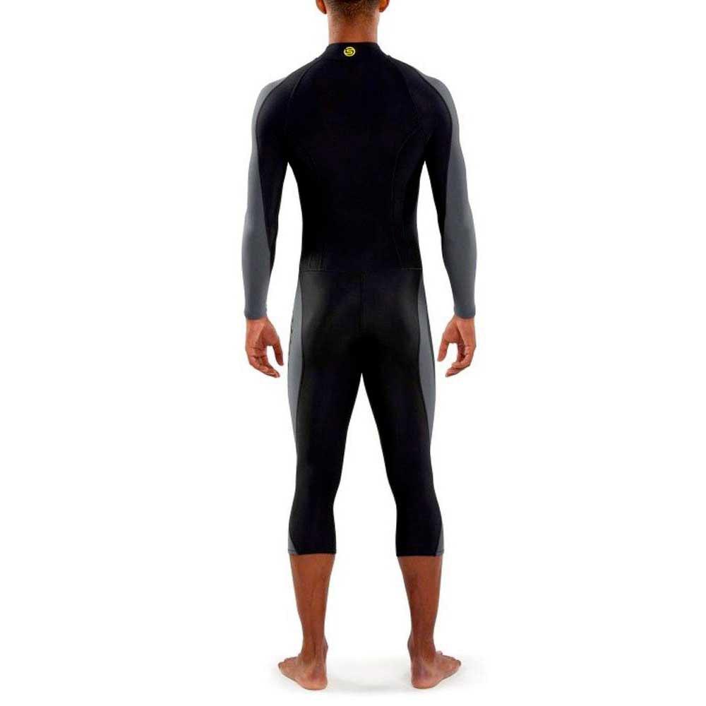 Skins Dnamic Team Long Sleeve Mens Thermal Training Top White 100% Guarantee Activewear Tops